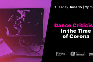 Open panel discussion Dance Criticism in the Time of Corona