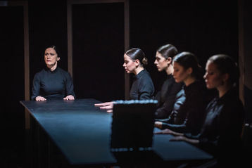 Black Box in Pilsen turned into the cramped house of Bernarda Alba