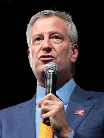 Bill de Blasio. Zdroj Wikimedia Commons.