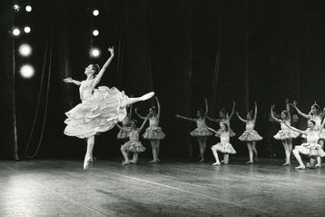 Coppélia z roku 1978. Foto: Archiv New York City Ballet.